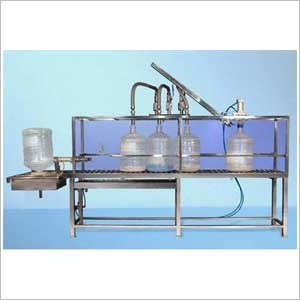 Semi Automatic 20ltr Jar Filling Machine